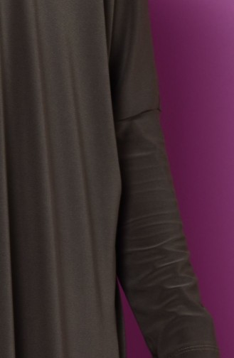Abaya 1780-06 Vert Khaki 1780-06