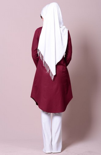 Claret red Tuniek 2101-13