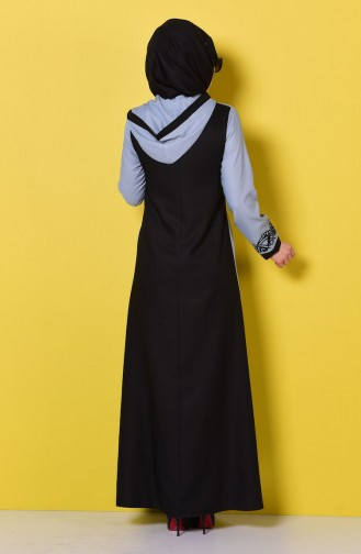 Blue Abaya 81133-03