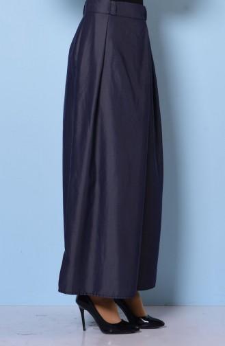 Pantolon Etek 1073-03 Lacivert Sefamerve