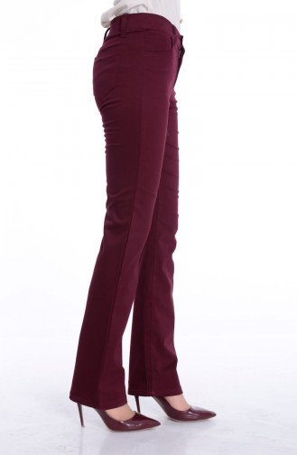 Claret red Pants 8869-05