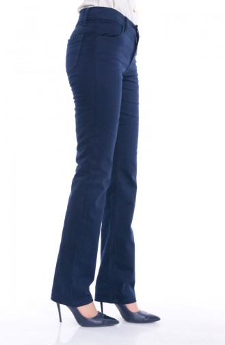 WB Wide Leg Trousers 8869-03 Navy Blue 8869-03