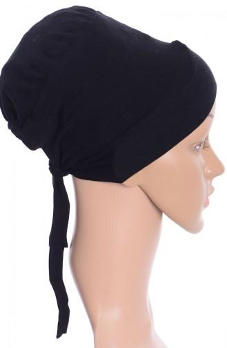 Bonnet Croisé 01 Noir 01