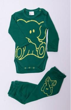 Sefamerve, Body Pijama Alt Takım 5487-01 Yeşil