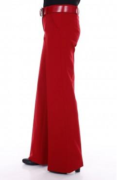 Sefamerve, Tesettür Pantolon 3068-04 Kırmızı