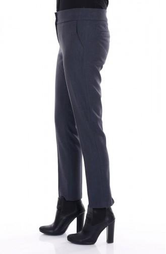 Tesettür Pantolon 20290-02 Lacivert Sefamerve
