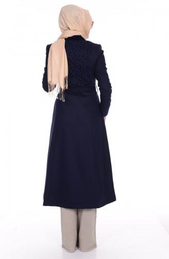 Navy Blue Topcoat 35640-02