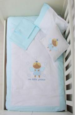 Sefamerve, Baby Jem Bebe Nevresim Takımı 311450-02 Mavi