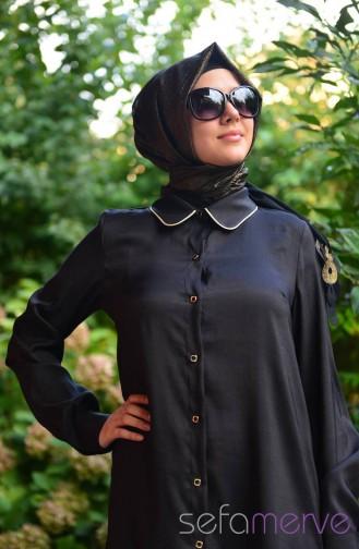 Pınar Aksam Tunic 2285-01 Black 2285-01