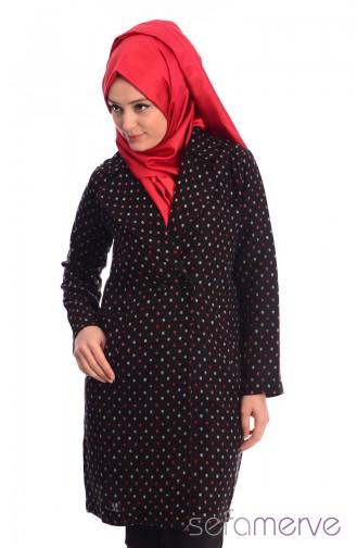 Esra Keküllüoğlu Ceket 55015-01 Siyah Sefamerve