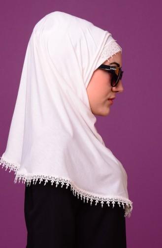 Cream Sjaal 09