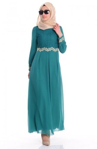 Green İslamitische Jurk 51983A-08