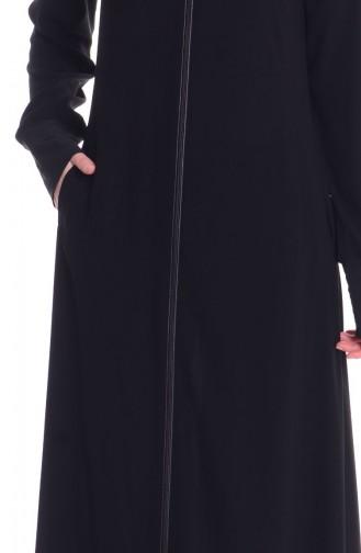 Schwarz Abayas 7266-01