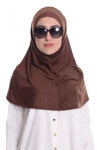 Brown Sjaal 12
