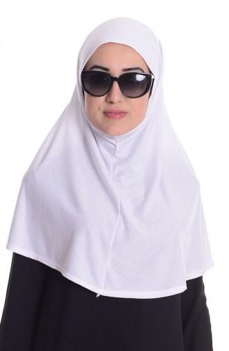 White Sjaal 21