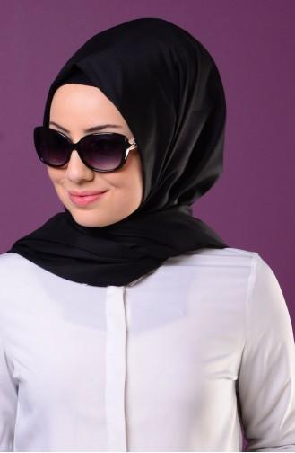 Black Snap Fastener Shawl 1-01