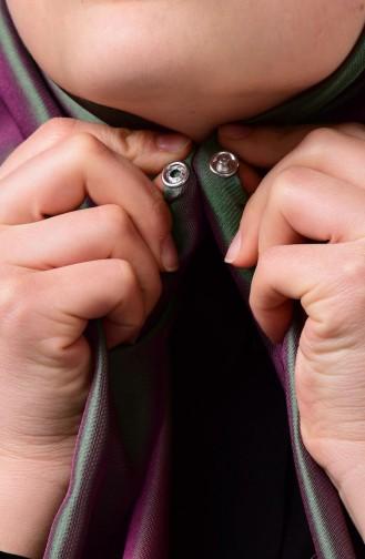 شالات أخضر حشيشي 1-18