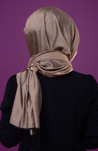 Black Sjaal met Drukknoop 1-11