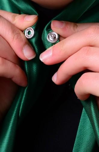 Sefamerve Snap Shawl E1-30 Green 1-30
