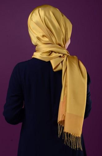 شالات أصفر زعفران 1-30