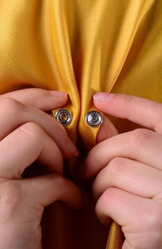 شال لون أصفر  1-33