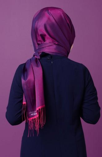 Light Black Sjaal met Drukknoop 1-19