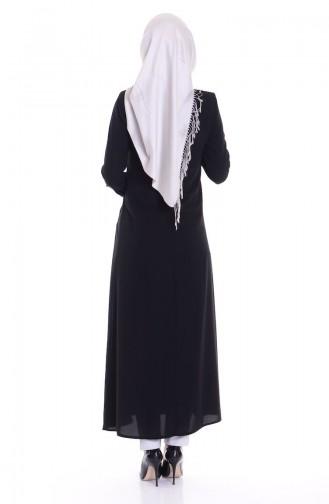 Black Abaya 0456-02
