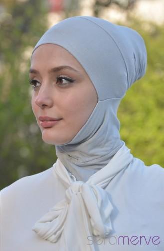 Sefamerve Hijab Bonnet 13 Gray 13