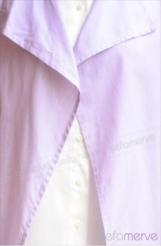 Sefamerve Tunic Models 5717 01 Lilac 5717-01