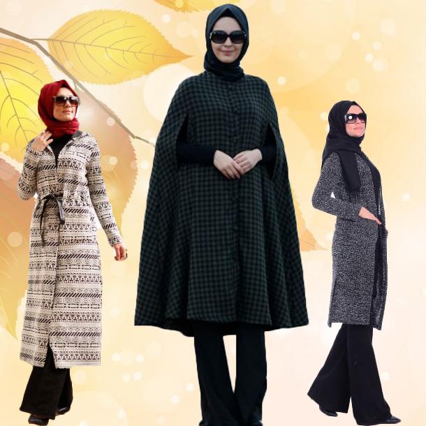 Sonbahar için moda kadın ceket