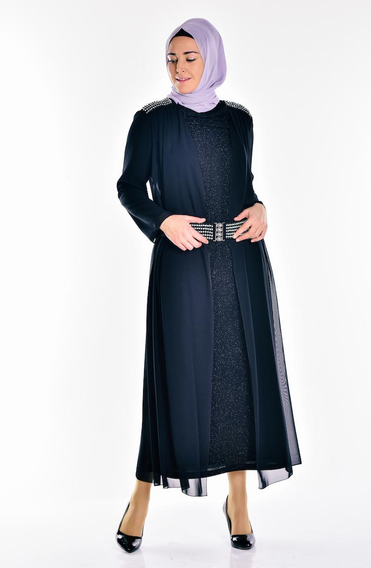 1e3ef25ce3c46 Yükle (752x1152)Büyük Beden Simli Taşlı Abiye Elbise 6062-02 Siyah  Sefamerve - BuldumkiTesettür Giyim için aradığınız en uygun fiyatlarlar ve  en kaliteli ...