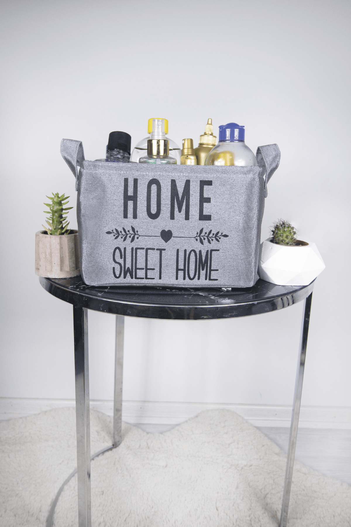 Rope Home Gri Renk Home Sweet Home 6´lı Aile Seti 60-01 Gri 60-01
