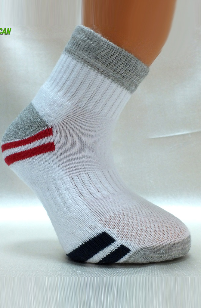 Hercan Çorap Spor Patik 71687-01 Gri