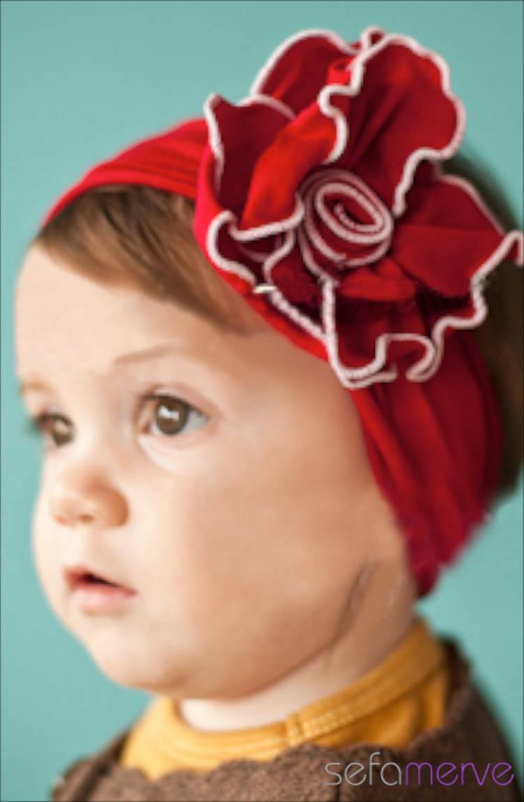 Baby Dora Saç Bandı Modelleri Baby Dora MGB77 Bandana 15