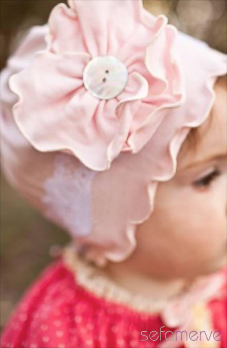 Baby Dora Saç Bandı Modelleri Baby Dora MGS06 Şapka 22