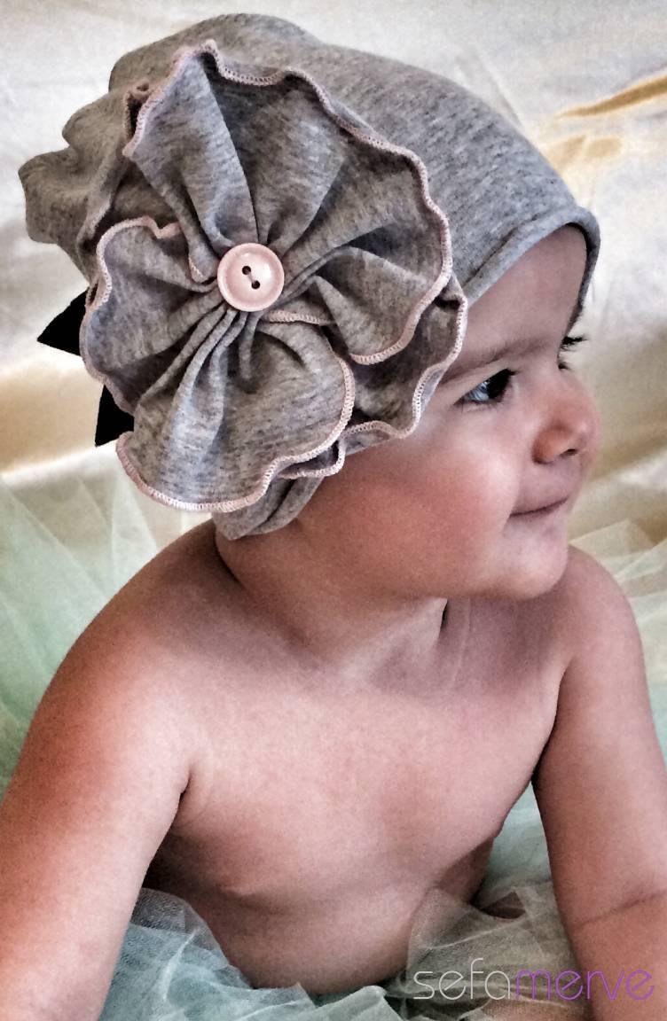 Baby Dora Saç Bandı Modelleri Baby Dora MGS08 Şapka 23