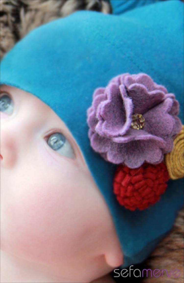 Baby Dora Saç Bandı Modelleri Baby Dora MGS50 Şapka 29