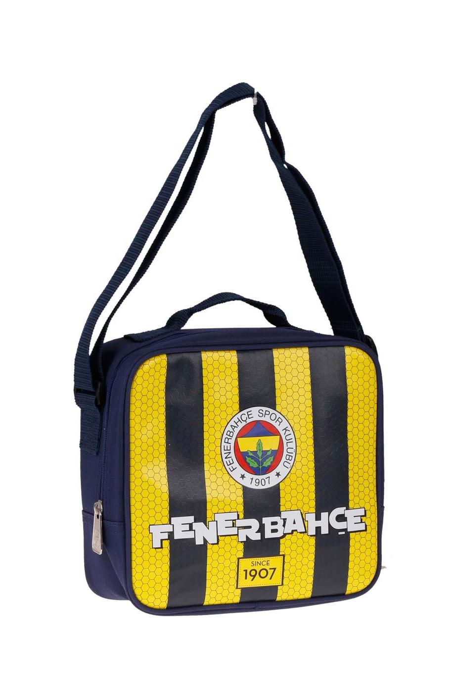Okula Dönüş Fenerbahçe Beslenme Çantası 82537-01 Sarı Lacivert