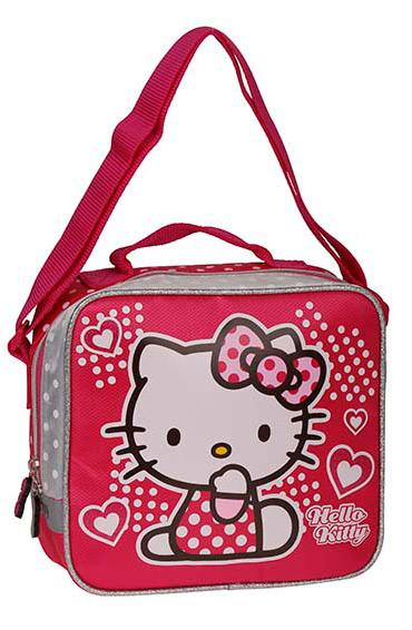 Okula Dönüş Hello Kitty Beslenme Çantası 86021-01 Pembe