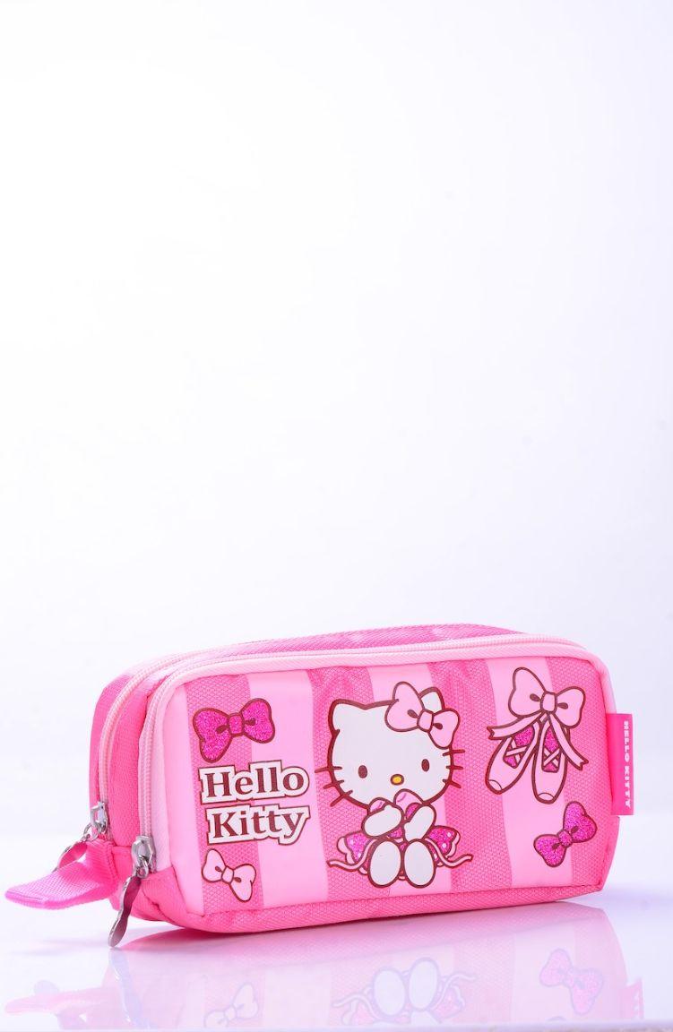 Okula Dönüş Hello Kitty Kalem Kutusu 85503-01 Pembe