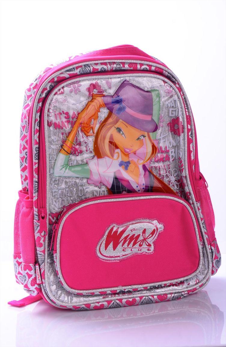 Okula Dönüş Winx Okul Çantası 63138-01 Pembe