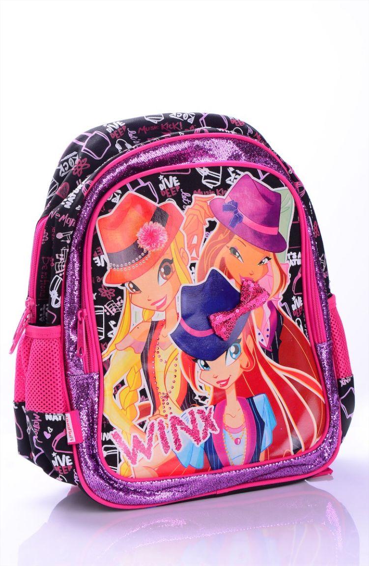 Okula Dönüş Winx Okul Çantası 63150-01 Pembe