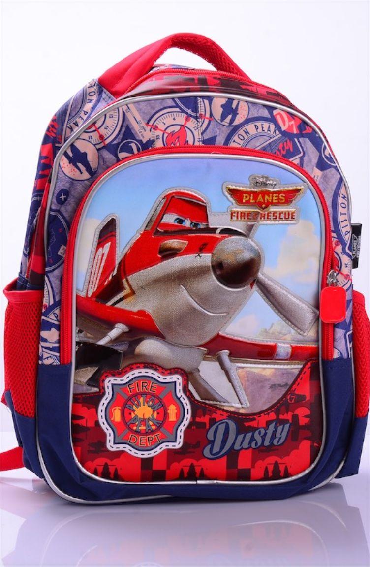 Okula Dönüş Planes Okul Çantası 86570-01 Kırmızı