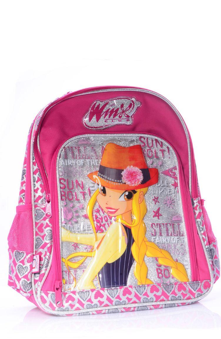 Okula Dönüş Winx Okul Çantası 63139-01 Pembe