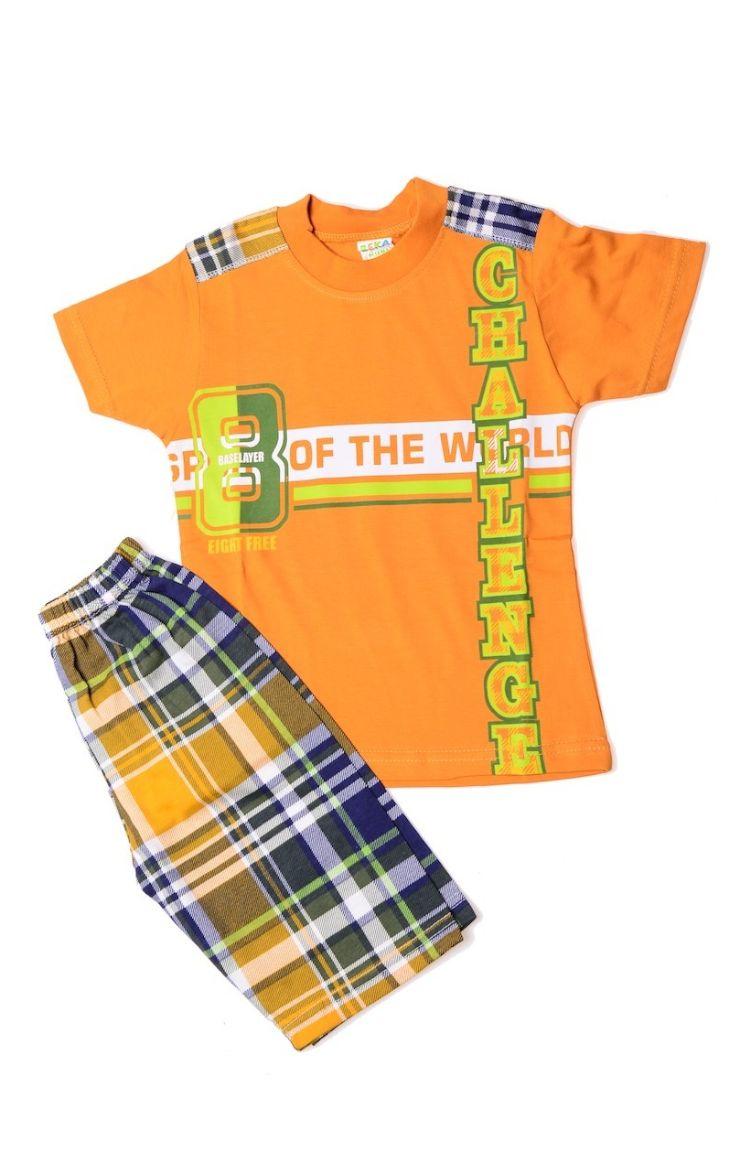 Tatlı Rüyalar Pijama Takımı 0103P-06 Hardal Fıstık Yeşili