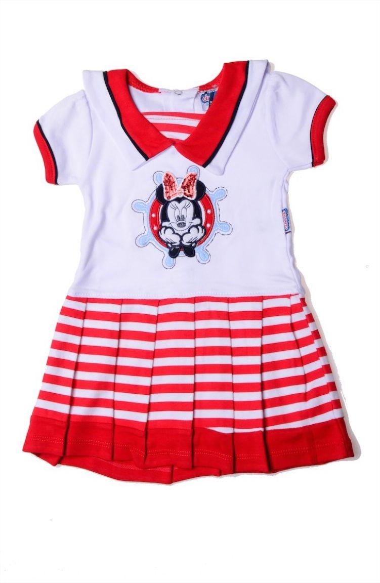Elbise ve Abiye Modelleri Kız Elbise 0675-01 Kırmızı Beyaz